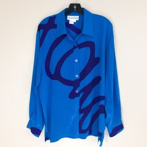 DVF Abstract Print Shirt